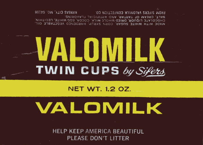 Valomilk Chocolate Candy